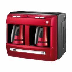 صانعة القهوة التركية بيكو 1200 وات - أحمر