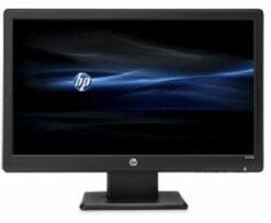 شاشة كمبيوتر hp حجم 18.5 انش - أسود