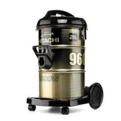 مكنسة كهربائية برميل هيتاشي 21 لتر 2200 وات - أسود